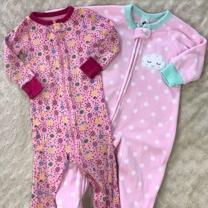 Baby Girl Footed Sleeper Bundle Old Navy Just Born